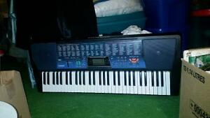 Casio Keyboard, Music Stand and Stool