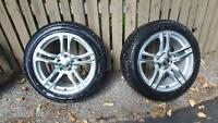 Winter tire package for Audi A4 (or equivalent)