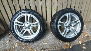 Winter tire package for Audi A4 (or equivalent) Kawartha Lakes Peterborough Area image 1