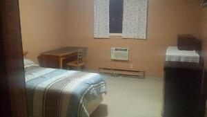 fully furnished motel rooms available