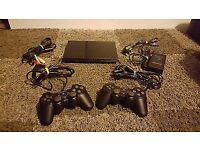 Sony Playstation 2 console Slim black