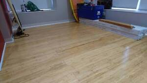 Bamboo Floating Floor Boards / Flooring with Underlay Adelaide CBD Adelaide City Preview