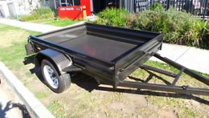 7x5 HEAVY DUTY BOX TRAILER FREE SPARE WHEEL & FREE JOCKEY WHEEL Cardiff Lake Macquarie Area Preview