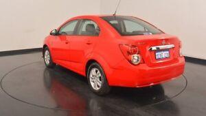 2014 Holden Barina TM MY15 CD Red 6 Speed Automatic Sedan