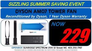 Dyson AM07 Tower Fan, 1 Year Dyson Warranty