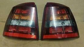 Astra mk 4 rear smoked lights