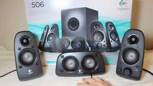 5.1 channel Logitech home theater  only $69 Miranda Sutherland Area Preview