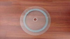Tempered Glass Lazy Susan with Umbrella Hole Kitchener / Waterloo Kitchener Area image 1