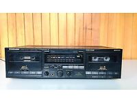 PIONEER CT-W901R Stereo, (Double Cassette) Deck for sale