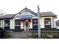 Indian Takeaway and Restaurant for Sale