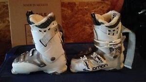Salomon ski boots used a handful of times