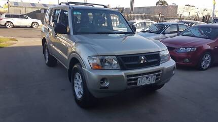 2004 Mitsubishi Pajero Wagon AUTO TURBO DIESEL Williamstown North Hobsons Bay Area Preview