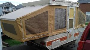 1984 bonair tent trailer - it's an oldie but a goodie