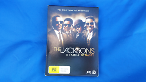 Dvd The Jacksons. A Family Dynasty Belmont Lake Macquarie Area Preview