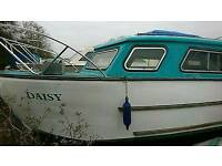 Nauticus 27ft cabin cruiser project