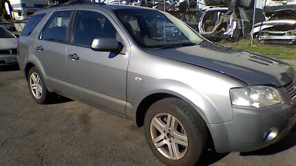 NOW WRECKING 06 FORD TERRITORY 7 seater BRISBANE - SPARES