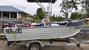 4.3m Clark Challenger Abalone center console Kingston Logan Area Preview
