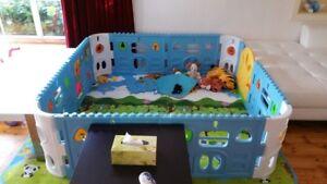 Nanny Annie 12 Pieces Interactive Playpen In Excellent Condition Bentleigh Glen Eira Area Preview
