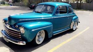 Ford coupe deluxe 1946