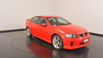 2010 Holden Commodore VE MY10 SV6 Red 6 Speed Manual Sedan
