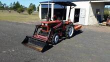 Tractor with bucket and Slasher plus  Rotary Hoe and Carry All. Gatton Lockyer Valley Preview
