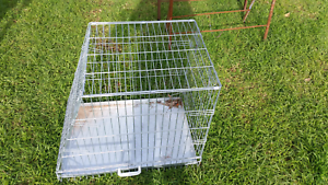 Dog carry cage collapsible O'Sullivan Beach Morphett Vale Area Preview