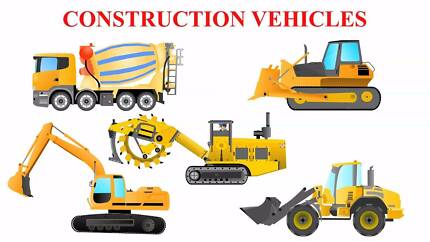 Rent a Construction Vehicle or equipment