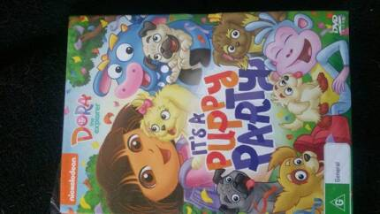 Dora The Explorer Dvd (Its A Puppy Party)