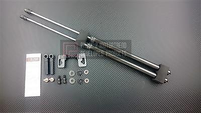 1 Carbon Fiber Hood - P2M CARBON FIBER ENGINE HOOD DAMPER FOR HONDA S2000 S2K AP1 AP2 - PHASE 2