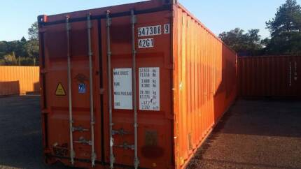 40ft A GRADE SHIPPING CONTAINER