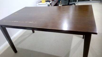 Solid wooden dining table Dining Tables Gumtree Australia