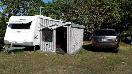 Annexe for caravan