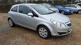 2010 Vauxhall Corsa 1.2i 16v ( 85ps ) ( a/c ) Exclusiv petrol manual