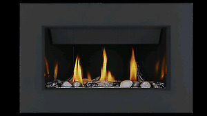 Brand name zero clearance direct vent natural gas fireplaces