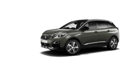 2017 Peugeot 3008 P84 MY18 GT Line SUV Amazonite 6 Speed Sports Automatic Hatchback