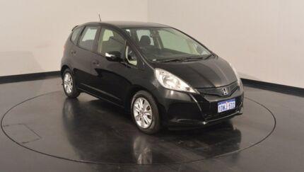 2012 Honda Jazz GE MY12 Vibe-S Black 5 Speed Automatic Hatchback Victoria Park Victoria Park Area Preview