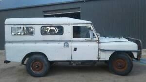 1970  series 2A Land Rover Wagon Caloola Outer Bathurst Preview