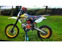 Demon x 140 cc pitbike big wheel
