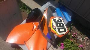 2002 Ktm 250 SX (XC GEARING) Good condition. Lots of extras. Peterborough Peterborough Area image 7
