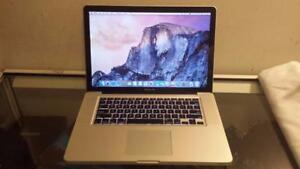 2011 Macbook Pro 15 with Intel Quad Core Core i7 Processor, Webcam and Wireless for Sale