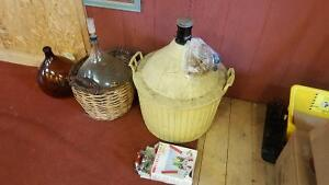 WINE MAKING CARBOYS