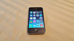 Iphone 4 16 GB -Telus  , Bell  - Mint Condition-  Trade