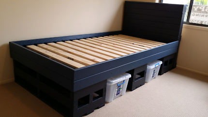 BED PALLET FRAMES (NEW)  CUSTOM MADE LOCALLY