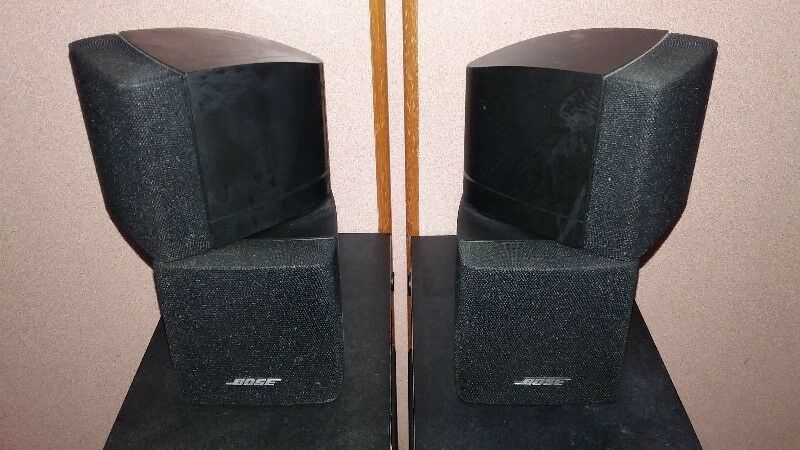 QUALITY HI END BOSE CUBES SPEAKERS MADE IN USA.
