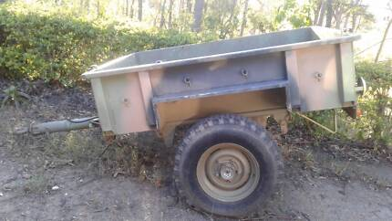 Landrover Perentie Military 1/2 tonne Trailer
