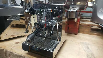 VINTAGE STYLE 1 GROUP DOMESTIC ESPRESSO COFFEE MACHINE NEW CHEAP