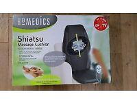 Brand new in box Homedics shiatsu massager chair