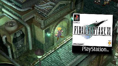Final Fantasy 7 für die PlayStation