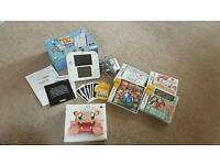 *MINT*(with box) Red and White Nintendo 2DS with accessories & games