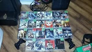 160 GB PS3 with 21 games and 2 controllers